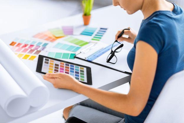 professional decorator designer London